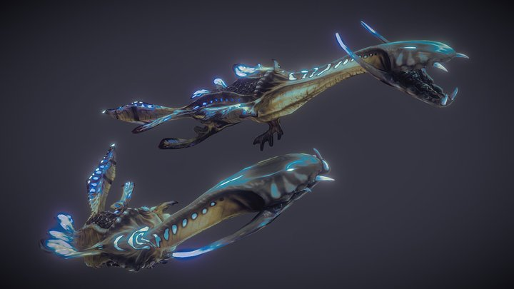 Vorn, Sea Creature of Malu 3D Model