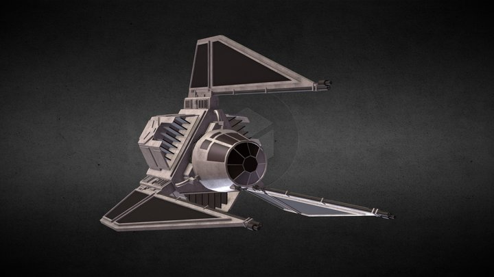 Star Wars: TIE Phantom 3D Model