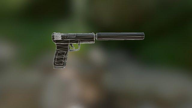 Glok 20 3D Model