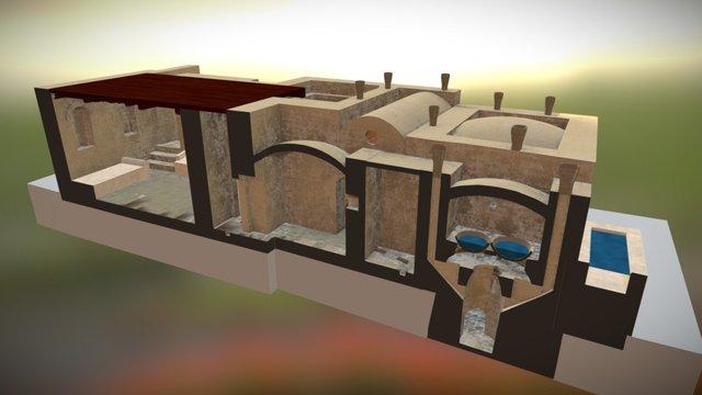 Karanis Bath Section 1 3D Model