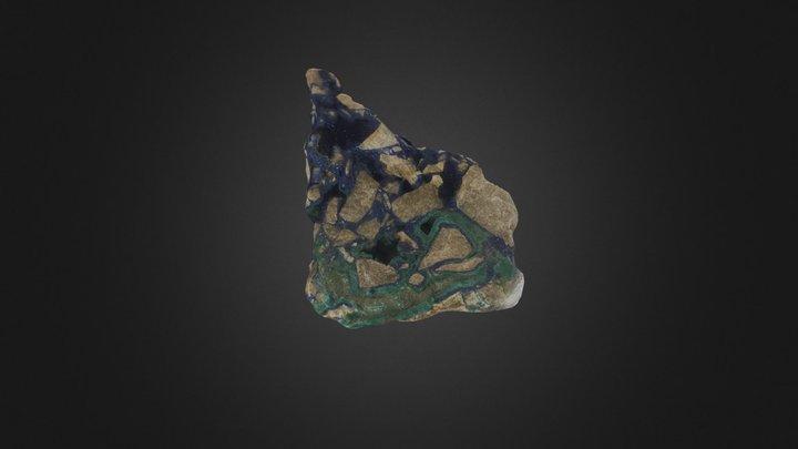 Azurite 3D Model