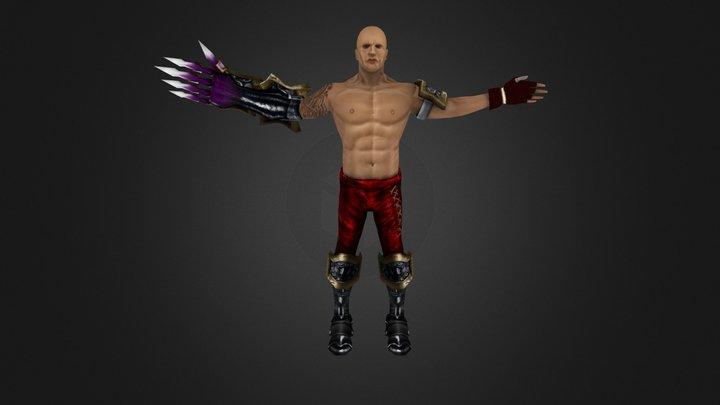 man_W 3D Model
