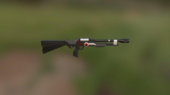 Sci_Fi_Rifle_ 3D Model