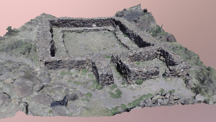 The Great Kiva at Casa Malpais 3D Model