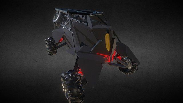 Dakar Race Drone 3D Model