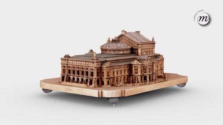 Opéra de Paris - Paris Opera 3D Model