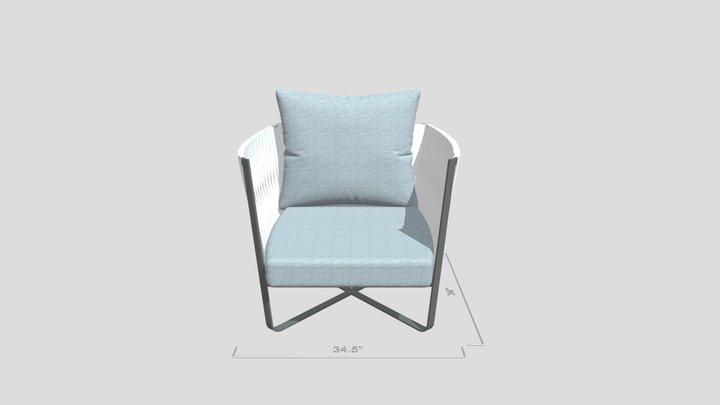 Kamille Club Chair 3D Model