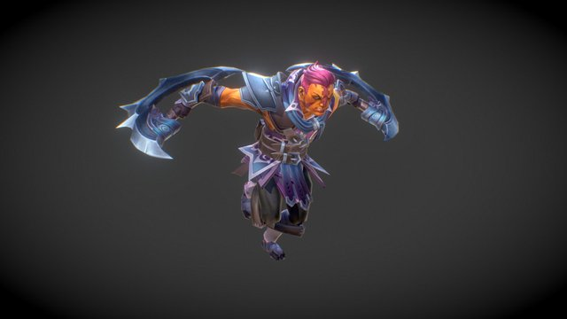 Dota 2 Workshop: Distinguished Conscript 3D Model