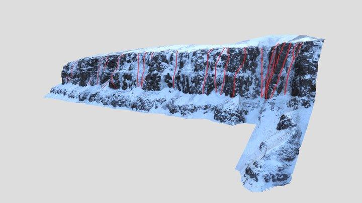 Múlafjall - Kötlugróf 3D Model