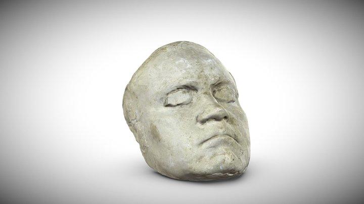 Lebendmaske Ludwig van Beethoven (1770-1827) 3D Model