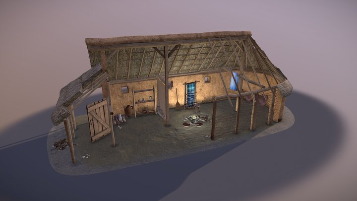 Lattara - Etruscan settlement 3D Model