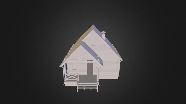 Banya S Mansardoy 3D Model