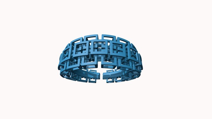 Kubusarmband-taps-smal-M 3D Model