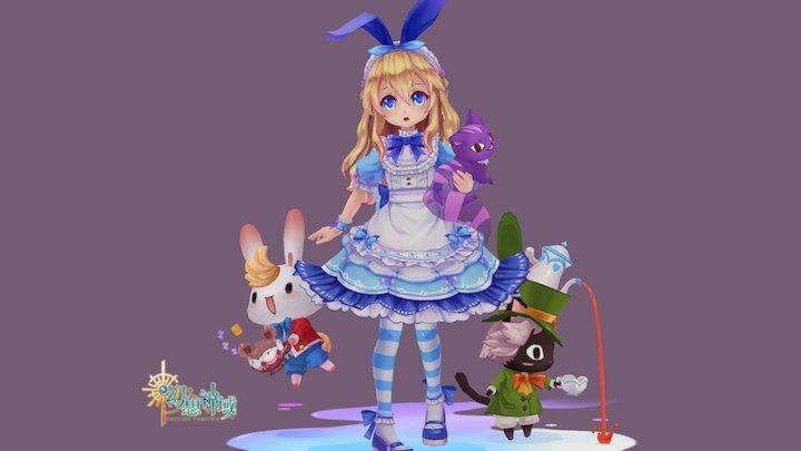 Alice 3D Model
