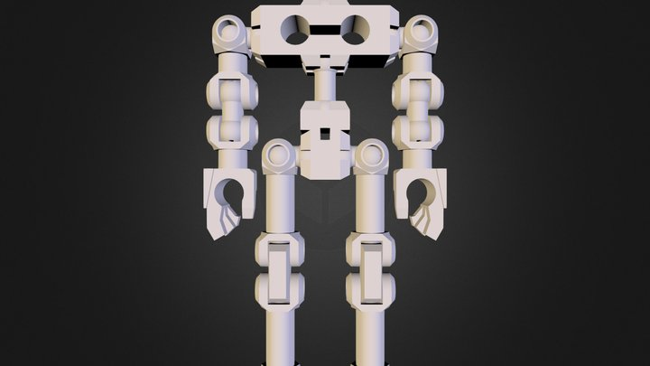 Action Former - Proto Skeleton 3D Model