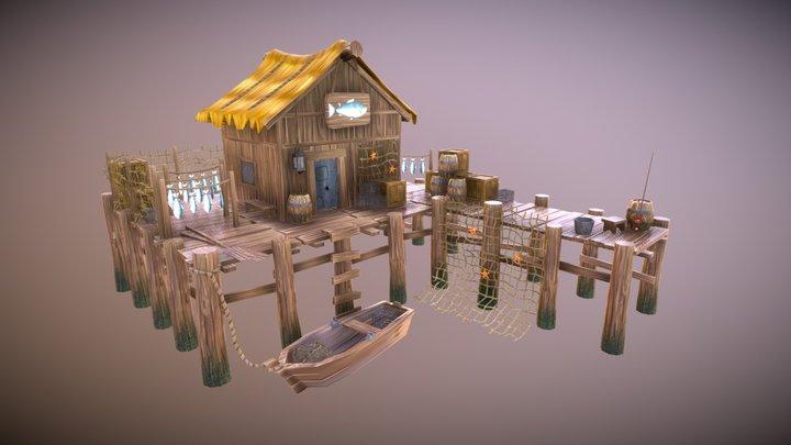 Fishery 3D Model