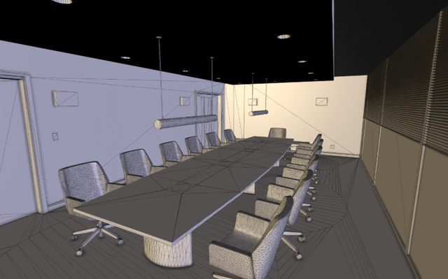 boardroom.3DS 3D Model