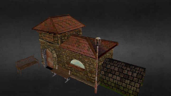 ChrisUsher_boathouse 3D Model
