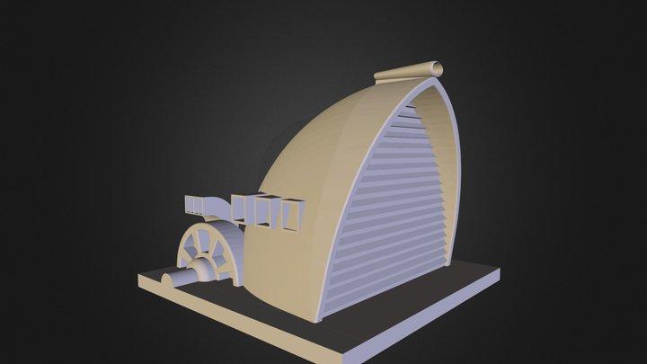 Dune II Wind Trap 3D Model