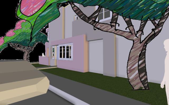 affordable housing prototype 3D Model