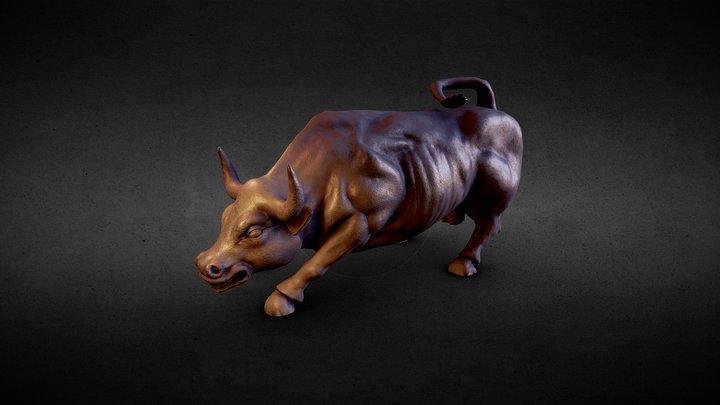 Charging Bull 3D Model
