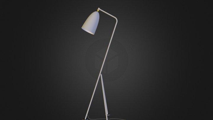 Grasshopper lamp 3D Model