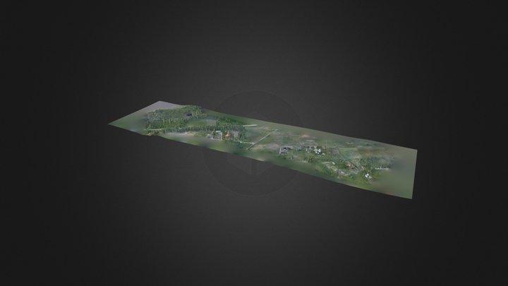 Jovariškės 3D Model