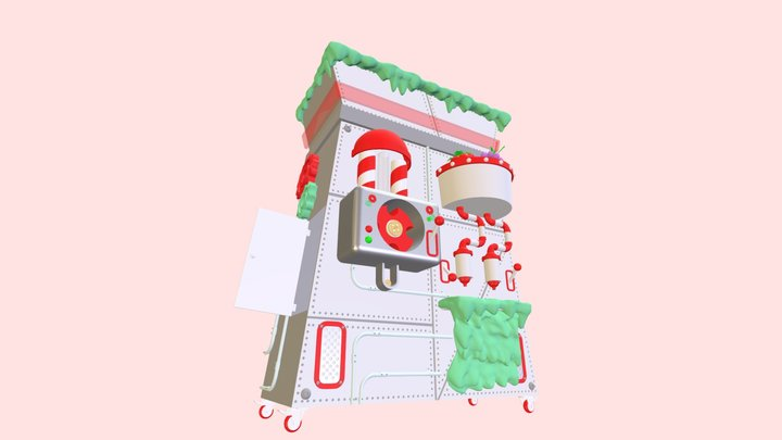 Cookie Machine 3D Model