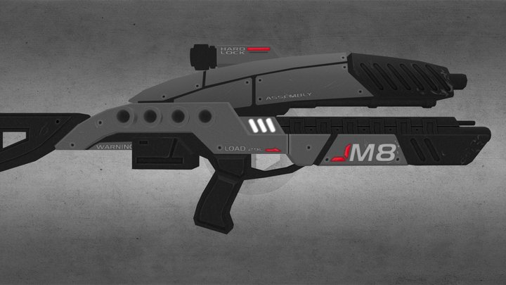 ME3 Avenger 3D Model