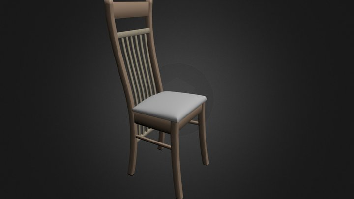 simple_chair.blend 3D Model