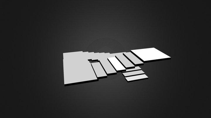 treppepenrose.blend 3D Model