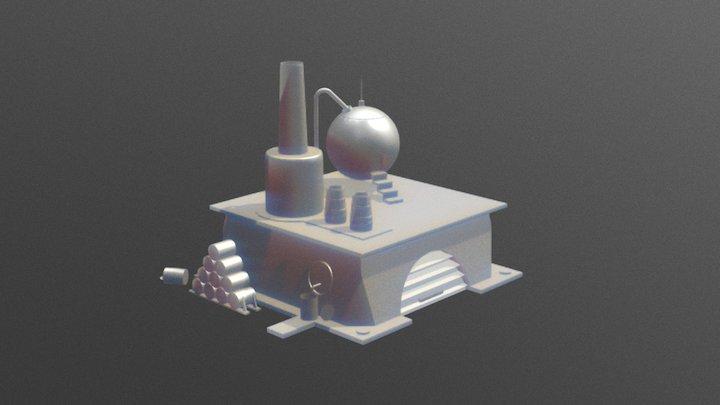 V.E.P. XII: Pharosprosium Refinery 3D Model