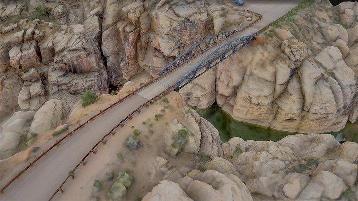 Chevelon Canyon Bridge 3D Model