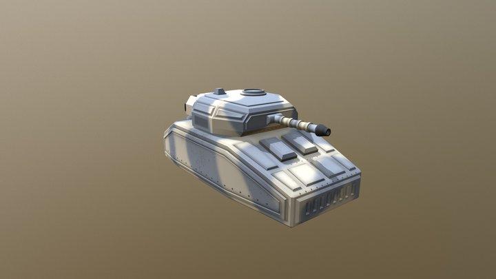 Hover-tank 3D Model