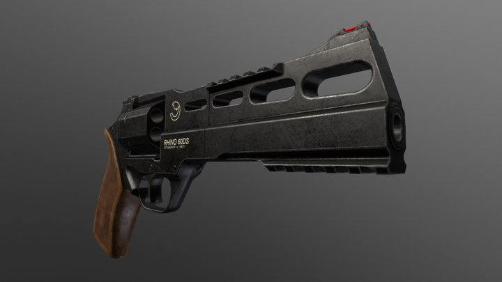 Chiappa Rhino 60DS 3D Model