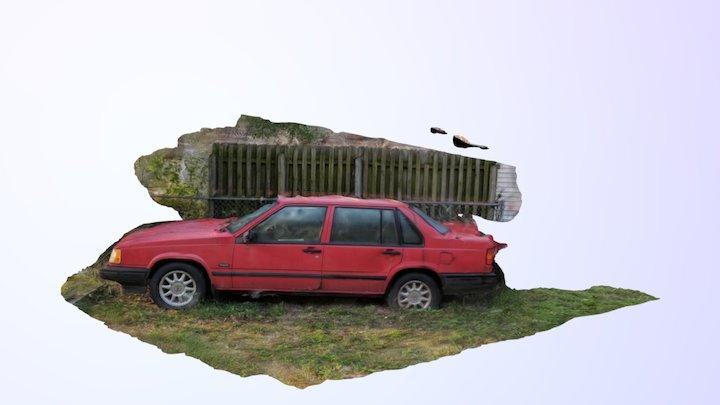 1993 Volvo 940 Turbo exterior 3D Model