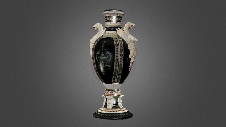 Vase aux griffons ailés par Prosper Jouneau 3D Model