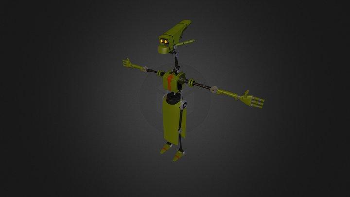 Hidden Nature Bot 3D Model