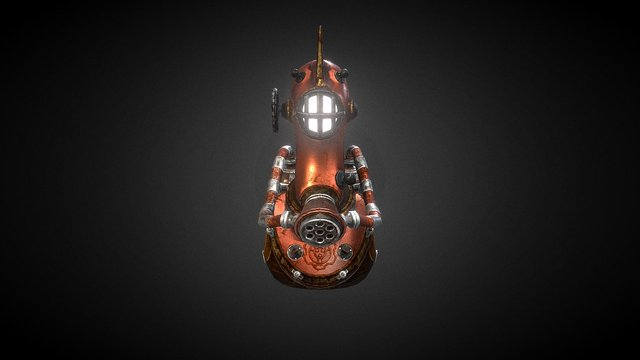 Space Explorer 3D Model