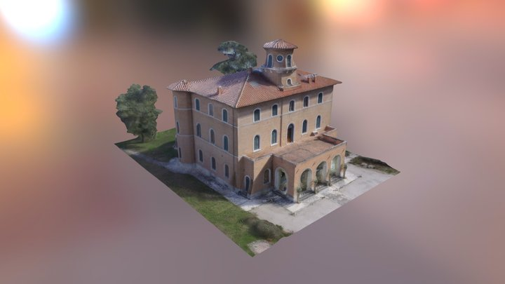 Villa padronale Montepulciano 3D Model