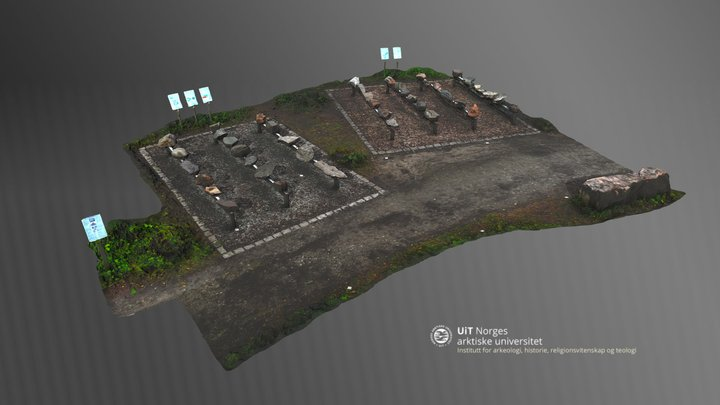 Geologivandring ved UiT i Breivika 3D Model