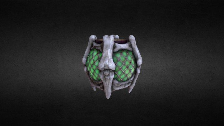 Vladimir Bones Lantern 3D Model