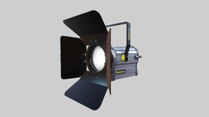 VEGALUX 200 StudioLED FRESNEL 3D Model