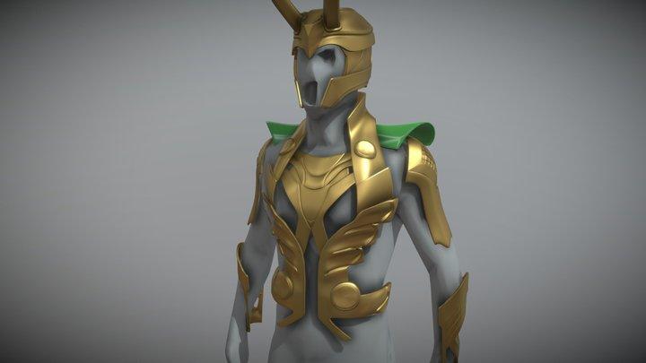 Loki Armor 3D Model