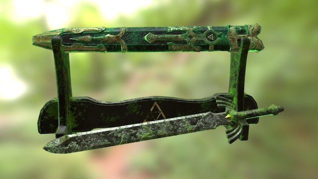 Forgotten Sword 3D Model