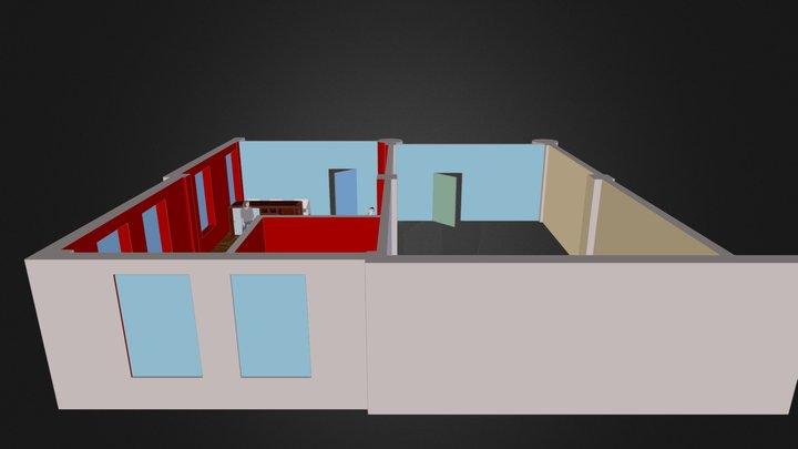 Manicures Studio 3D Model