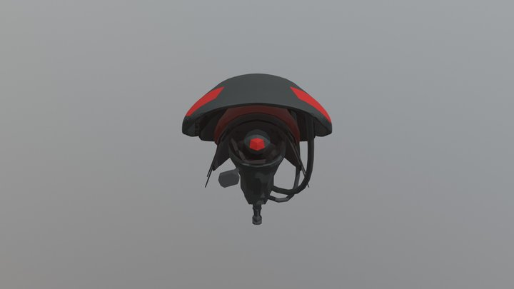 drone testing 3D Model