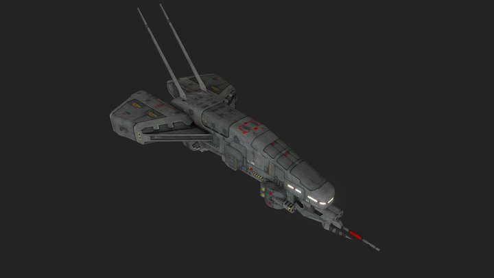 vgr_kopeshcorvette 3D Model