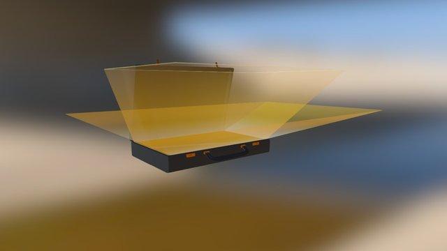 Pulp Fiction Briefcase 3D Model
