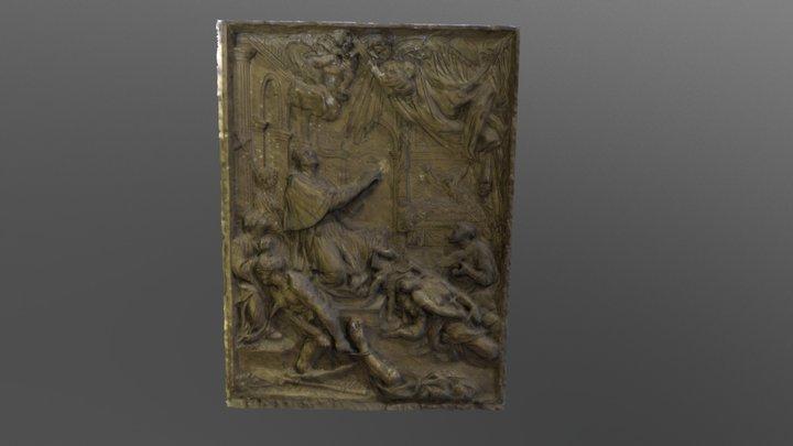 Moulage d'un bas-relief 3D Model